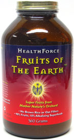 Fruits of the Earth Organic Super Fruits Powder by HealthForce