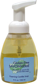 Gluten-Free Foaming Castille Soap by the Gluten-Free Savonnerie
