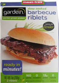 Slow Cooked Barbecue Riblets by Gardein