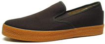 Garth Slip-On by Draven  Brown Canvas