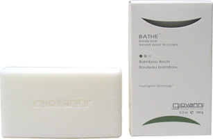 Bathe™ Bar Soaps by Giovanni Organic Body Care