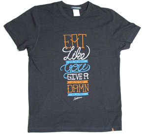 Eat Like You Give a Damn T-Shirt by Herbivore Clothing
