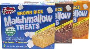 Organic Brown Rice Marshmallow Treats by Glenny's