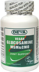 Vegan Glucosamine with MSM & CMO by DEVA