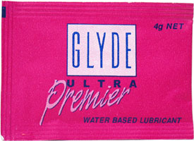 Glyde Premium Personal Lubricant Packets - 10 pack