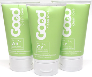 Organic Personal Lubricants by Good Clean Love