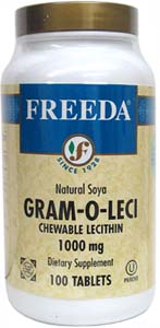 Chewable Soy Lecithin Tablets by Freeda Vitamins