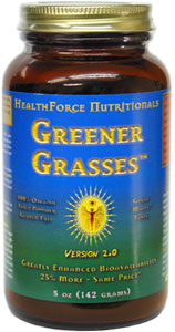 Organic Greener Grasses Powder by HealthForce Nutritionals