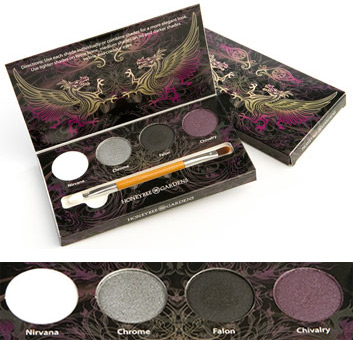 Rock the Smoky Eye Eyeshadow Palette by Honeybee Gardens