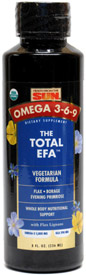 Total EFA Organic Omega 3-6-9 Oil Supplement by Health from the Sun