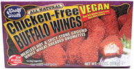 Chicken-Free Buffalo Wings by Health is Wealth