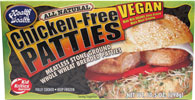 Chicken-Free Patties by Health is Wealth