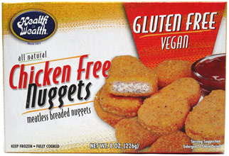 Chicken-Free Nuggets by Health is Wealth