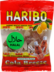 Cola Breeze Gummy Candies by Haribo