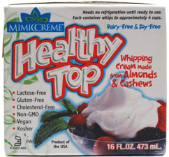 Healthy Top Vegan Whipping Cream Substitute