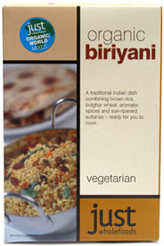 Organic Biryani by Just Wholefoods