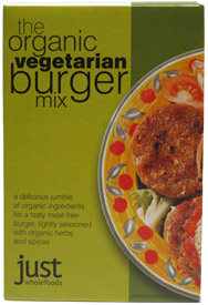 Organic Vegan Burger Mix by Just Wholefoods