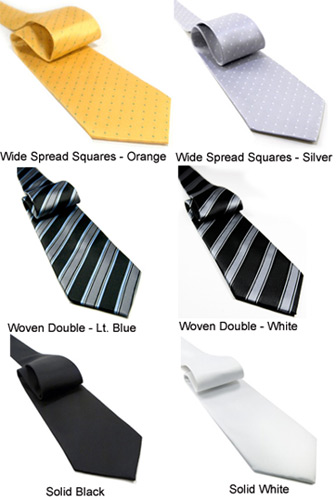 Non-Silk Neckties by Jaan J. - New Styles