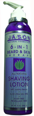 6 � in � 1 Jason Beard and Skin Therapy Shaving Lotion