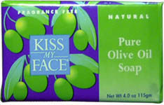 Kiss My Face Pure Olive Oil Soap