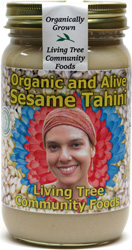 Organic Raw Sesame Tahini by Living Tree Community Foods