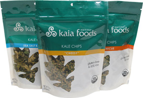 Kaia Foods Raw Kale Chips