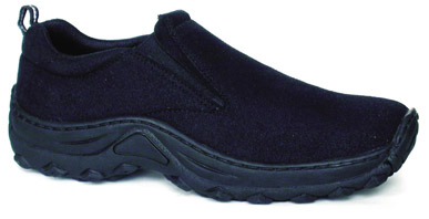 Kalahari  Shoe by Vegetarian Shoes - Black