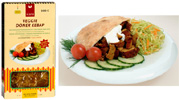 Organic Spicy Vege Kebob by Viana