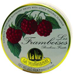 LaVie French Fruit Candy Tins