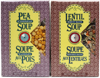 Quick & Easy Soup Mixes by Legumes Plus