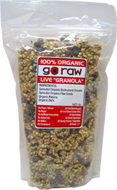 100% Organic Live &#8220;Granola&#8221; Cereal by Go Raw