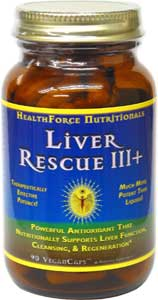 Liver Rescue IIII+ by HealthForce Nutritionals