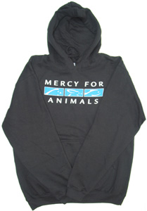 Mercy for Animals Logo Hooded Sweatshirt
