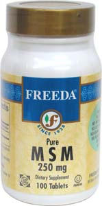 MSM Joint Support Tablets by Freeda