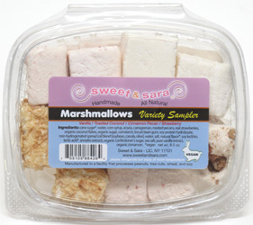Vegan Marshmallow Sampler by Sweet &amp; Sara