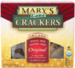 Marys Gone Crackers Organic Rice and Seed Crackers