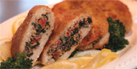 Vegan Mediterranean Stuffed Chicken Breasts by Match