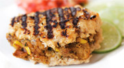 Vegan Southwest Style Stuffed Pork Chop by Match