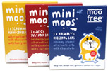 Mini Moos Chocolate Bars by Moo Free