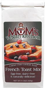 Vegan French Toast Mix by Mom's Vegan Kitchen