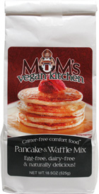 Vegan Pancake and Waffle Mix by Mom's Vegan Kitchen