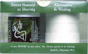 Moom – the Vegan Hair Removal System