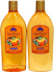 Organic Fruit Blends Shampoo and Conditioner by Nature's Gate