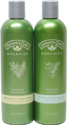 Nature's Gate Organics Shampoos and Conditioners