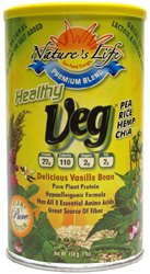 Healthy Veg Protein Powder by Nature's Life