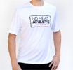 No Meat Athlete Stamp Logo Technical Athletic Shirt - White