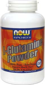 Vegan L-Glutamine Powder by NOW Sports