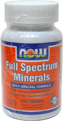 Full Spectrum Minerals Tablets by NOW Foods