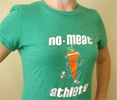 No Meat Athlete Sustainable Material T-Shirt - Women's Green