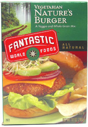 Natures Burger Mix by Fantastic Foods